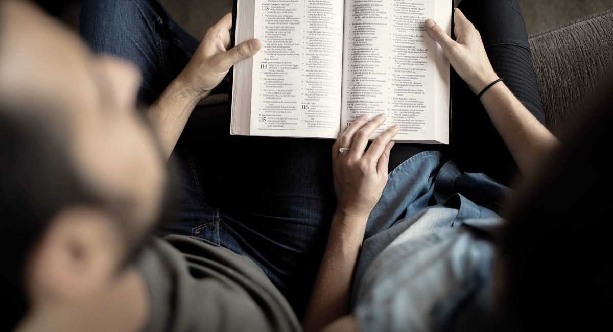 Reading bible together